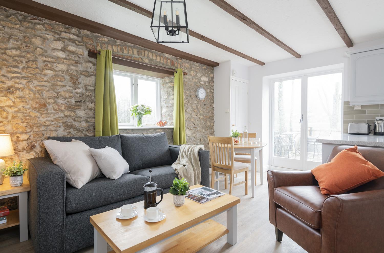 Otter Cottage 1 Lounge