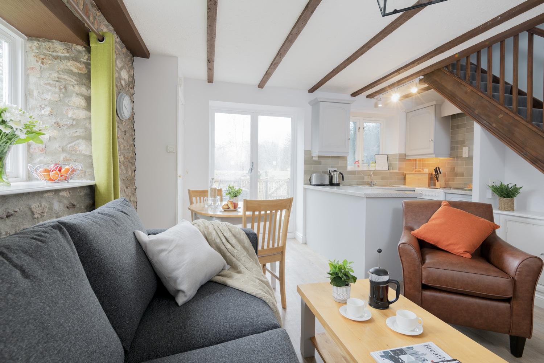 Otter Cottage 1 Lounge/ Kitchen