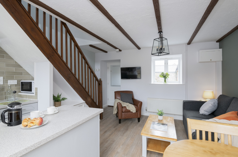 Otter Cottage 2 Lounge/ Kitchen