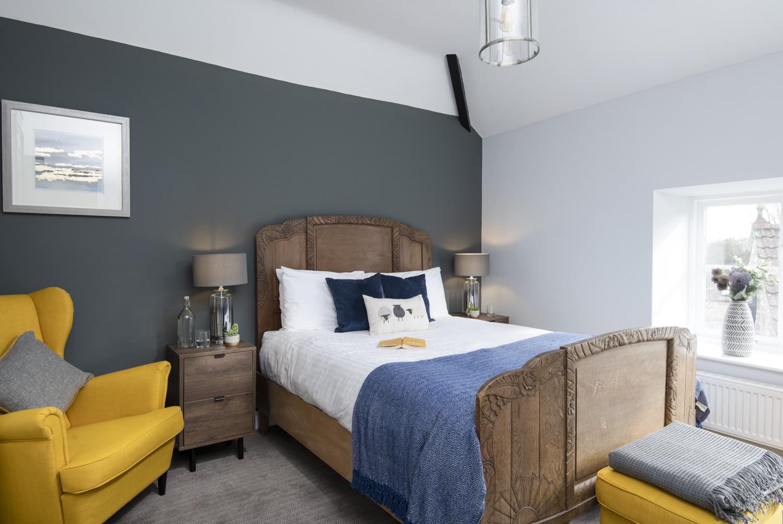 Hayloft Cottage Master Bedroom